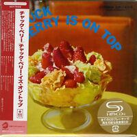 CHUCK BERRY-CHUCK BERRY IS ON TOP-JAPAN MINI LP SHM-CD Ltd/Ed G00