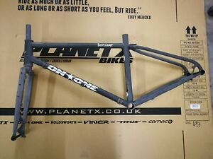 On-One Bootzipper 650b Mountain Bike Frameset - Medium Gloss Raw (BZ1)