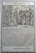 Gravures sur bois Woodcut print Jean Cousin Figures de la Sainte BIBLE Folio 77