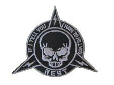 Transformers 3 Nest Military Army Navy Skull If I Tell You I Have To Kill Patch