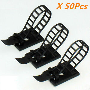 3M Self-Adhesive Clips Fastens Fixed Organizer for Car Auto Repair Cable Wire