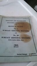 surface grinder machine book