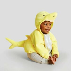 Plush Yellow Baby Shark Infant Pullover Halloween Costume - 12-18 Months #4627