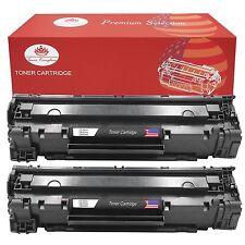 2 PK High Yield 125 Toner Cartridge for Canon ImageClass LBP6000 LBP6030w MF3010