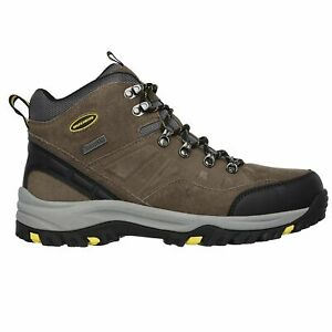 Skechers Men's 64869 Relaxed Fit Relment Pelmo Waterproof Hiking Boots