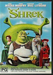 Shrek DVD - Free Post
