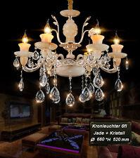 Araña de cristal lámpara techo jade Metal Montura E14 Lujoso Nuevo 89537-6