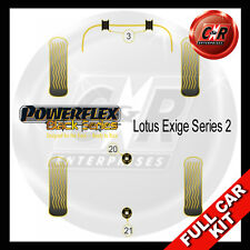 Lotus Exige Series 2 Powerflex Black Complete Bush Kit