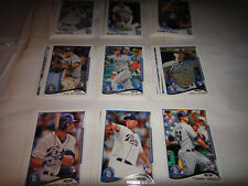 SAN DIEGO PADRES TWO COMPLET TEAM SETS, 2013 & 2014 TOPPS, SERIES 1, 2 & UPDATE