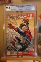 Marvel Amazing Spider-Man #1 CGC 9.8 1st Cameo of Cindy Moon aka Silk