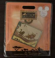 New Disney D23 Expo 2019 Lion King 25th Anniversary Simba Pumbaa Pin LE 3000