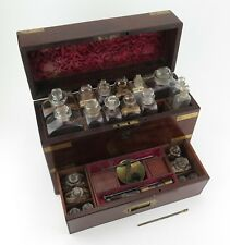 More details for georgian earl's travelling medicine apothecary chest c1840. museum quality