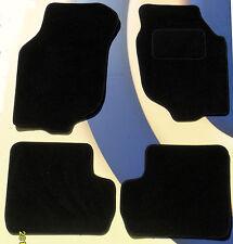 Rover 200/25, MG ZR Alfombras de Coche Negro con mechones trenzados B