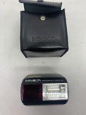 Minolta Programa 1800 af Canera pistola Flash en caso