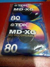 TDK Md-xg 80 Minute MD Recordable Blank Minidisc Md-xg80