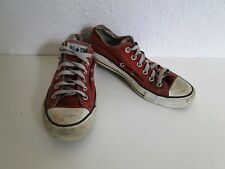 Converse all star Chuck sneaker baskets slim low tissu rouge taille 6/39