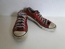 Converse All Star Chucks Sneaker Turnschuhe Slim Low Stoff Rot Gr. 6 / 39