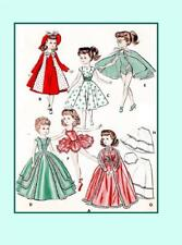 """18"""" Miss Revlon Cissy Lilo My Fair Lady by Ideal Doll Clothes PATTERN 8354"""