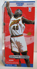 "1997 Shawn Kemp 12"" Starting Lineup Seattle Sonics Poseable Figure NIB"