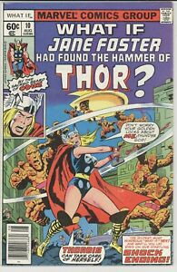 WHAT IF? 10  VF / VF+  1978 FIRST TIME  JANE FOSTER BECOMES THOR MCU