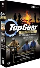 TOP GEAR UK 2007-2008 AFRICA (BOTSWANA) + VIETNAM SPECIALS - NEW R2/4 DVD not US