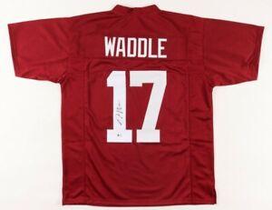 Jaylen Waddle Signed Jersey (Beckett COA)Alabama Crimson Tide
