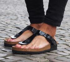 Birkenstock Damen-Sandalen-Flaches (kleiner als 1 Gizeh cm)