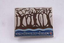 Hungary Badge Environmental Protection Ecology Nature Communist Youth KISZ pin
