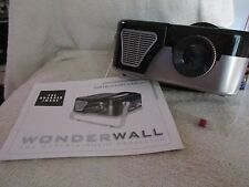 The Sharper Image Wonderwall Entertainment Projector Games Movies