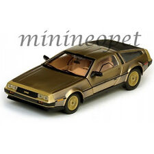 SUN STAR 2702 1981 81 DMC DELOREAN 12 1/18 DIECAST MODEL CAR GOLD EDITION