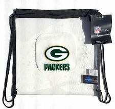 Little Earth Green Bay Packers Clear String Bag