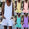 Women Dungarees Short Jumpsuit Romper Summer Casual Overalls Playsuit Plus Size
