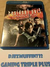 USED RESIDENT EVIL DAMNATION BLU-RAY (NO DIGITAL)