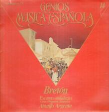 Breton(Vinyl LP)Genios De La Musica Espanola--GML 2014-Spain-Ex/Ex