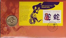 2013 Australia / Christmas Island Year Of The Snake PNC