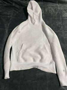 Todd Snyder X Champion Heavyweight Popover Hoodie - White / Size S