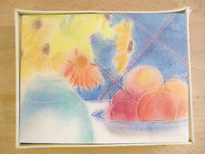 NEW Vintage Hallmark Crown Still Life Flower & Fruits 8 Note Cards & Envelopes