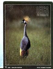 Leica Fotografie Magazine English Ed. No. 5 1983 Robert Palmer EX 032317lej