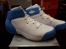 wholesale dealer 4a082 3d526 2004 JORDAN CARMELO 1.5 WHITE GOLD UNC BLUE 309265-171 SIZE 12 NUGGETS RC  SHOE