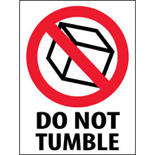 3 X 4 Do Not Tumble Labels 500roll