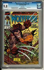 Marvel Comics Presents #43 (1990) CGC 9.8 WHITE!! Wolverine! Erik Larsen cover!!