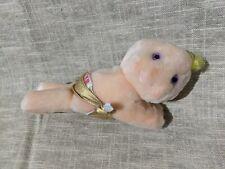 "Vtg Hallmark Purple Eyes Gold Diaper Fluffers blonde Baby Plush 7"" Taco Bell Toy"