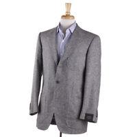 NWT $3295 SARTORIA PARTENOPEA Gray Donegal Silk-Wool Sport Coat 38 R (fits 40)