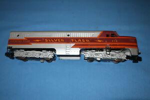 American Flyer #479 Silver Flash Alco PA Diesel Locomotive. Runs well