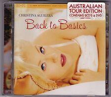 Christina Aguilera - Back To Basics - Australian Tour Edition - CD & DVD