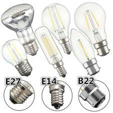 E14/B22/E27 2/4/6/8W Retro Edison LED COB Bombilla Vela Globe GLS Hood Light Luz