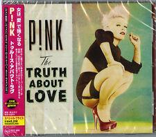 P!NK-THE TRUTH ABOUT LOVE-JAPAN CD BONUS TRACK E78