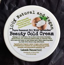 Coconut Oil Cold Cream Pure Organic Face Wash Snow White Whitening Moisturizer