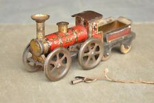 Vintage 575 Ges -Gesch Wind Up Litho Train Engine Tin Toy , Germany