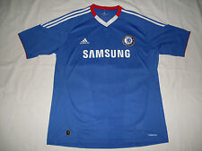 Maglia Chelsea Home Shirt Jersey 2010/2011 Adidas Samsung Tg.XL